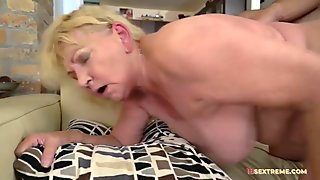 Horny Mature Gets Fucked From Behind