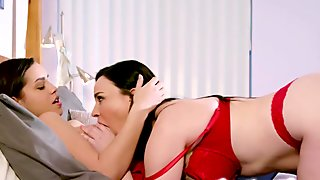 Dana DeArmond goes down and is having a mouthful