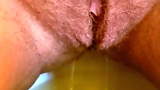 UNSHAVEN PUSSY PISS