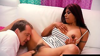 Mexican Milf Gabby Quinteros Gets Her Hairy Muff Stuffed!