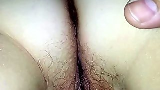 Ass fingering and pussy licking with Blue Angel