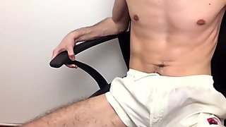Guy Moaning Loud - Cum No Hands In Pants