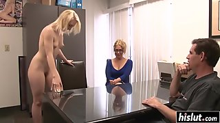 Lovely babes enjoy pleasing one another