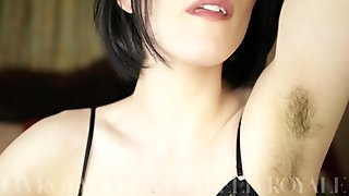 LivRoyale: Hairy Armpits Tease with Gentle CEI // Sensual Domination