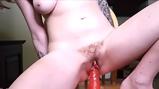 Close Up Dildo Riding Preview