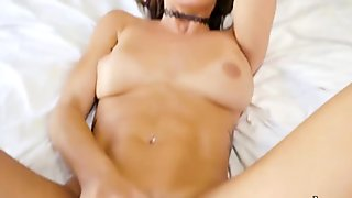 Sweet gf anal wrecked by huge cock and caught on cam