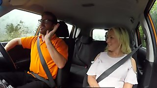 Fake Driving School Sexual discount for big tits blonde