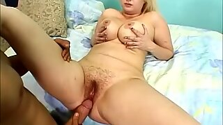 Chubby Blonde Zenova Braeden Gets Her Pussy Plugged